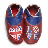 Chaussons bébé didoodam - Love London - Pointure 19-20
